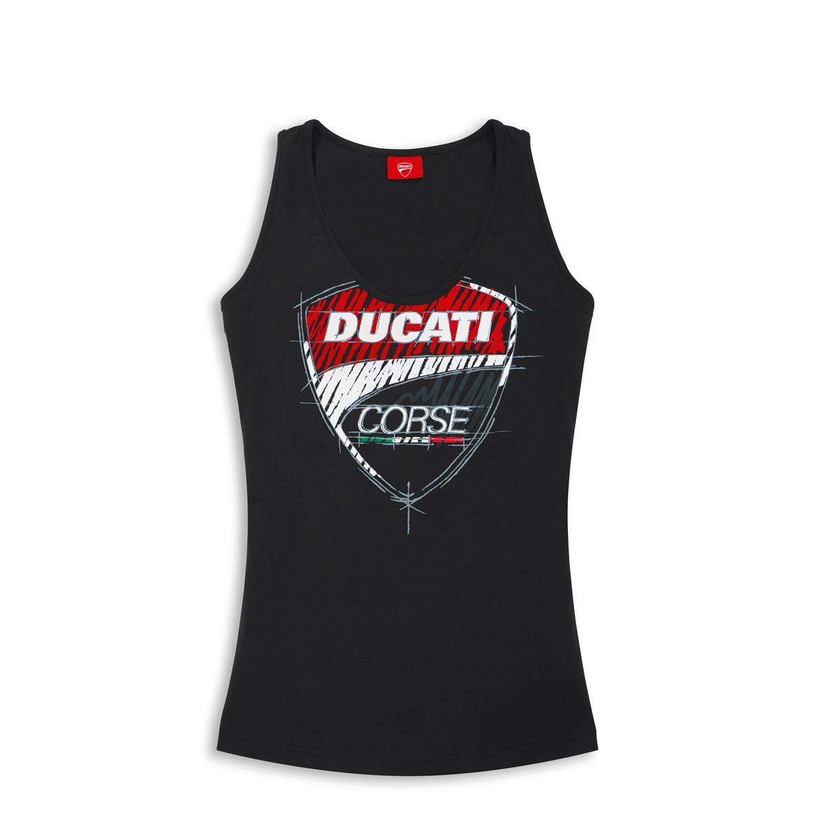 Ducati Lady Corse Singlet 17 Black Vest SqA1PwS